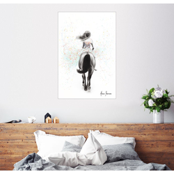 Posterlounge Wandbild, Den eigenen Weg finden 61 cm x 91 cm