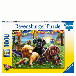 Ravensburger XXL Hunde Picknick Puzzle 100 Teile