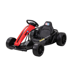 Actionbikes Motors Go-Kart GoKart, Belastbarkeit 70,00 kg, EVA-Weichgummireifen vorne, Hartgummireifen hinten rot