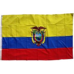 XXL Flagge Ecuador 250 x 150 cm Fahne mit 3 Ösen 100g/m² Stoffgewicht