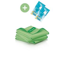 JEMAKO® Trockentuch S klein (40 x 45 cm) grün - 3er-Pack
