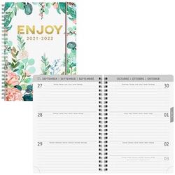 BRUNNEN Schülerkalender Enjoy Juli 2021 - Dezember 2022 mehrfarbig
