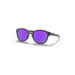Oakley Sonnenbrille - Latch - Matte Black - Prizm Violet Brillenfassung - Lifestylebrillen,