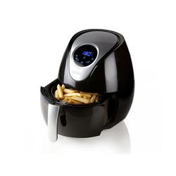 Domo Heissluftfritteuse, 1400 W, Kleine Heißluftfritteuse Umluft Crispy Fryer 3,5L, Pommes ohne Öl fettarm frittieren