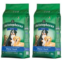 Christopherus Trockenfutter Älterer Hund, 2 Beutel á 4 kg