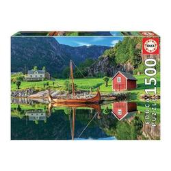 Educa - Wikingerschiff 1500 Teile Puzzle