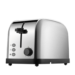 Daewoo Toaster Edelstahl Toaster - 2 Schubladen, 2 Scheiben, 2 kurze Schlitze, 850 W