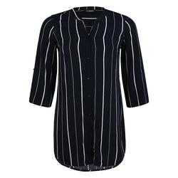 Bluse mit Streifen-Muster Doris Streich marine