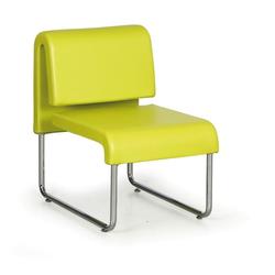 Sofa public, grün