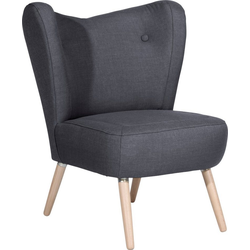 Max Winzer® Sessel Stella, im Scandinavian Design grau