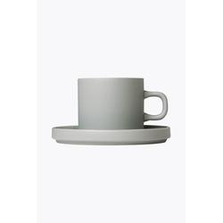 Blomus Pilar Mirage Grey 2er Set Kaffeetassen