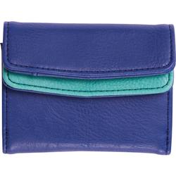 FIT-Z Mini-Geldbeutel, blau - blau