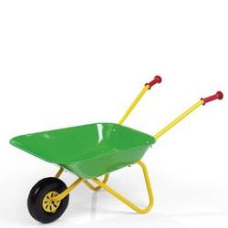 Kinderschubkarre Grün aus Metall Spielzeugkarre