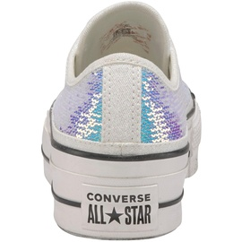 Converse Chuck Taylor All Star Lift Ox white-glitter/ white, 39