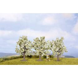 NOCH 25511 Baumpackung Obstbaum 45 bis 45mm Weiß, Blühend 3St.