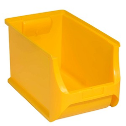Allit ProfiPlus Box 4H Aufbewahrungsboxen gelb