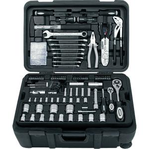 WERKZEUGTROLLY - Werkzeugsatz, Werkzeugkoffer, Universal, 122-teilig