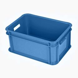 Gies ecoline Baby Box, 3,5 Liter, Aufbewahrungsbox geeignet für Kinderzimmer, Haushalt oder Büro, Farbe: blau