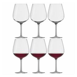 Eisch Rotweinglas Burgunderglas 6er Set Vinezza, Kristallglas beige