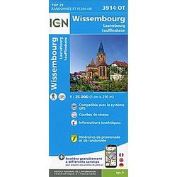 Wissembourg.Lauterbourg-Soufflenheim 1:25 000 - Buch