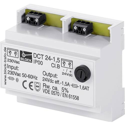 Block DCT 12-1 Ungeregelte Gleichstromversorgung 12 V/DC 1A 12W 1 x