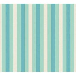 LARS CONTZEN Vliestapete Artist Edition No. 1 Pyjama Preféré blau