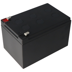 Akku passend für APC Ersatzbatterie Nr. 4 APC-RBC4, CSB SCD4 Ersatzbatterie geeignet für APC RBC4 mit 12 Volt und 12Ah