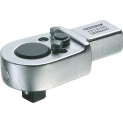 Einsteckumschaltknarre 7412-00 1/4 Zoll 9x12mm CV-Stahl GEDORE
