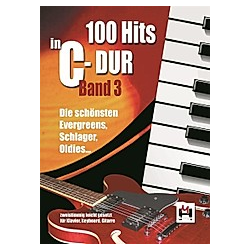100 Hits in C-Dur  für Keyboard/Klavier und Gitarre - Buch