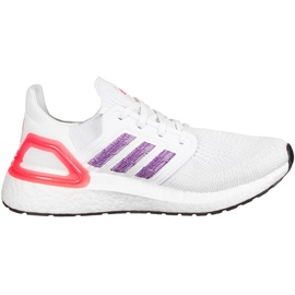 adidas Ultraboost 20 W footwear white/glow purple/echo pink 36 2/3