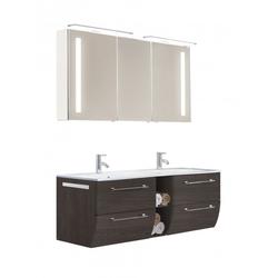 Spiegelschrank Azure spiegel 286 weiß seidenglanz griff für spiegelschränke