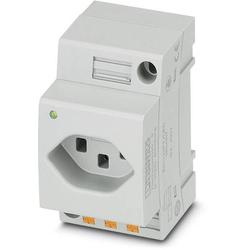 Phoenix Contact Schaltschrank-Steckdose EO-J/PT/LED Grau 1St.