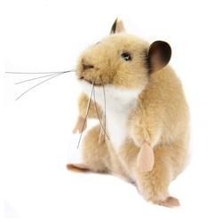 Kösen Kuscheltier Hamster Goldhamster 11 cm (Stoffhamster Plüschhamster Stofftiere Plüschtiere, Hamsterbaby kaufen Babyhamster aus Plüsch, Spielzeug Kinder Babys)