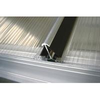 Vitavia Windsicherung für gewächshausplatten, schwarz 4 mm