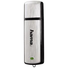 Hama FlashPen Fancy 16 GB schwarz/silber 00090894
