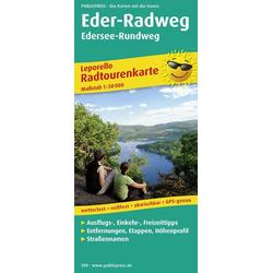Radtourenkarte Eder-Radweg Edersee-Rundweg 1 : 50 000