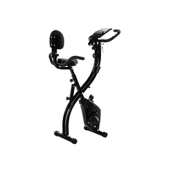 HOMCOM Heimtrainer Fahrradtrainer mit LCD Display