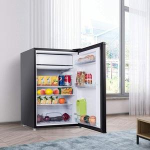 Kühlschrank mit Gerierfach Mini Kühlschrank 123 L Getränkekühlschrank
