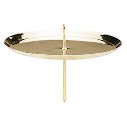 Kerzenhalter, gold, 10 cm Ø, 4 Stück