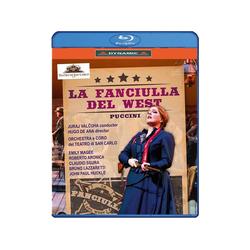 VARIOUS - La Fanciulla del West (Blu-ray)
