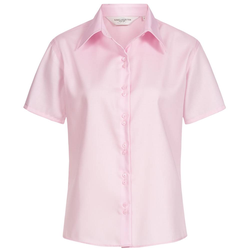 RUSSELL Short Sleeve Ultimate Non-iron Damen Hemd 0R957F0-Classic-Pink - L