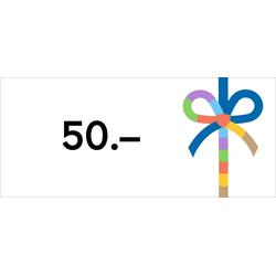 Digitaler Gutschein 50€, Gutschein