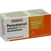 Ratiopharm PARACETAMOL-ratiopharm 500 mg Brausetabletten