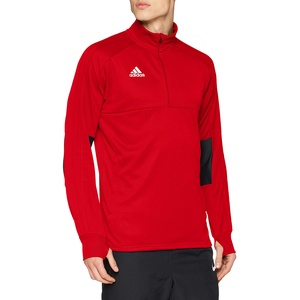 adidas Herren CON18 TR2 Sweatshirt, Power red/Black/White, XL