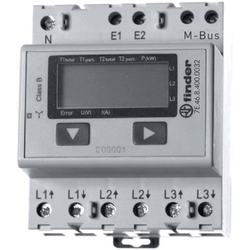 Finder Wirkstromzähler LCD-MBUS 7E.46.8.400.0022