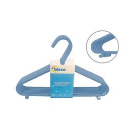 Kinder-Kleiderbügel-Set blau BIECO