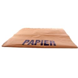 DEISS Papiersäcke 2-lagig, 700 x 950 mm, 70g, Kraftsackpapier, nassfest, 1 Bündel = 25 Stück, mit Aufdruck
