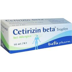 Cetirizin beta Tropfen