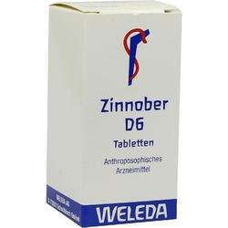 ZINNOBER D 6 Tabletten 80 St