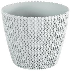Prosperplast Übertopf Splofy, ØxH: 34,1x28,9 cm